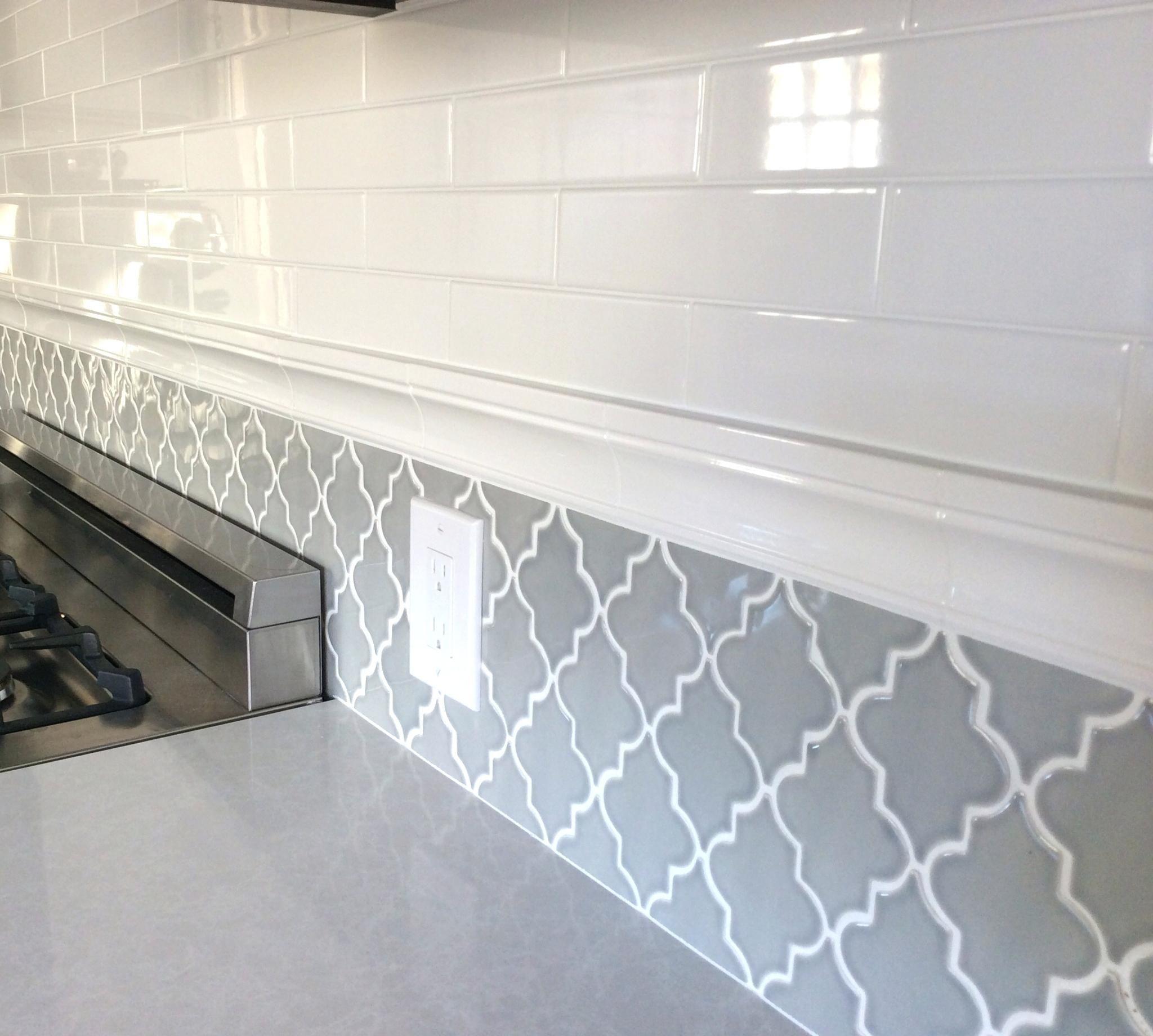 - Crackle Glass Tile Backsplash Interior Awesome Arabesque Tile Roman  Collection Full Size Of Arab… (With Images) Kitchen Tiles Backsplash, Backsplash  Tile Design, Kitchen Design
