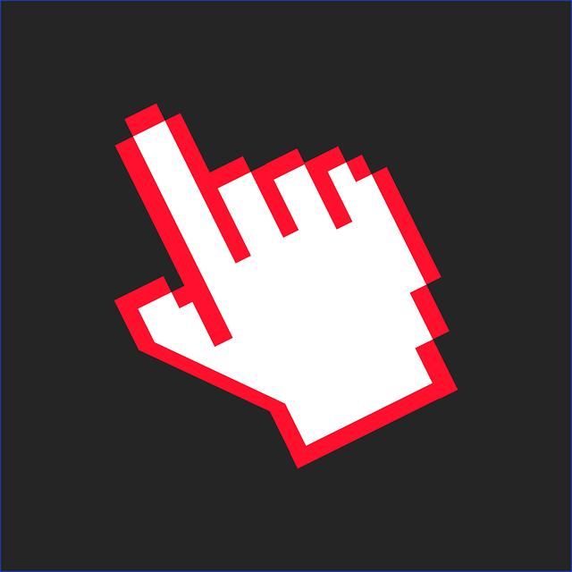 Free Image On Pixabay Mouse Cursor Hand Finger Click Digital Marketing Guide Clickbank Marketing Guide