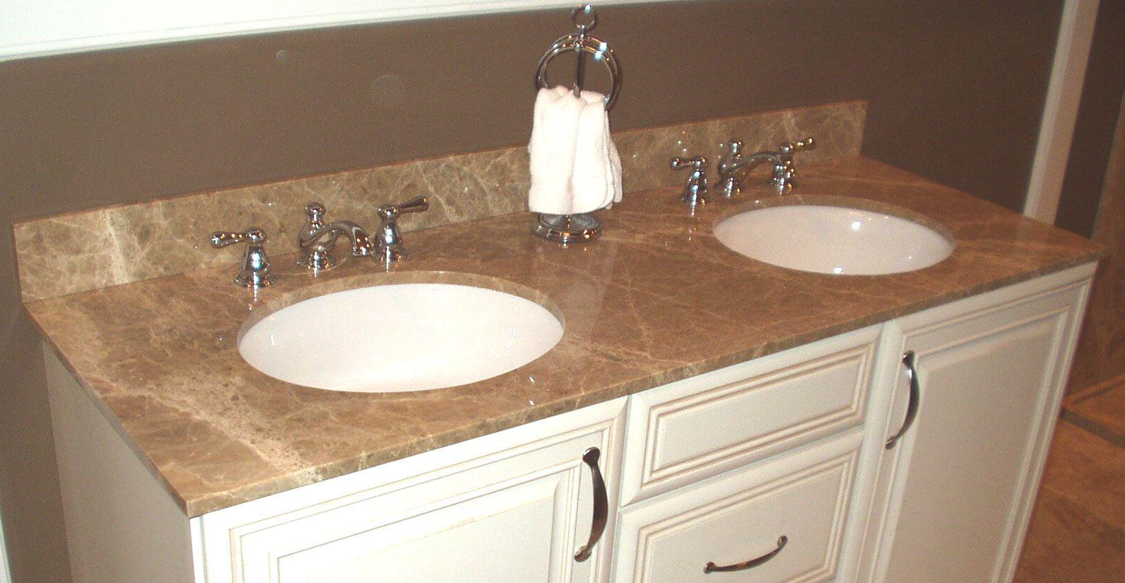 Countertop for bathroom vanities finito premium granite vanity tops that are in stock in eight designer
