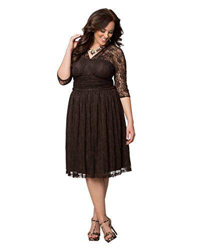 Swinging Symphony Dress (0X, Dark Truffle) Kiyonna Clothing http://www.amazon.com/dp/B00VSAW5H2/ref=cm_sw_r_pi_dp_FJBbwb0J6JD6R