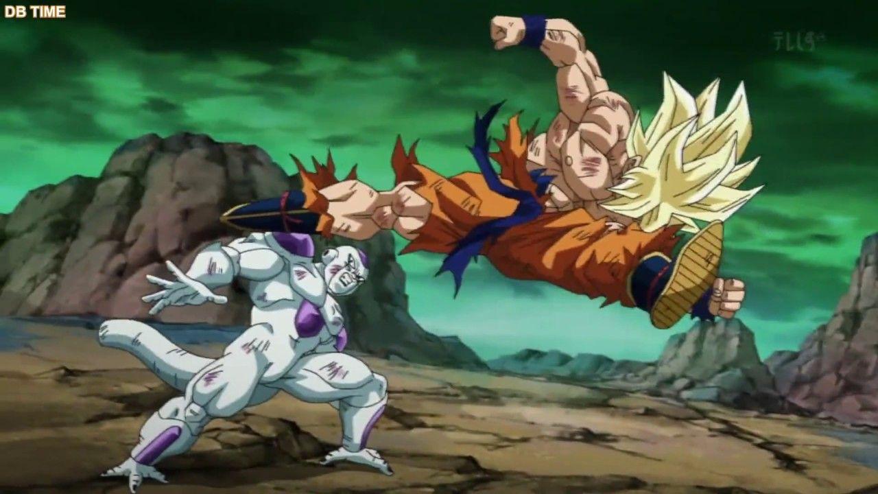 Goku vs Freiza Remastered (Future Trunks Special) (English Subs)