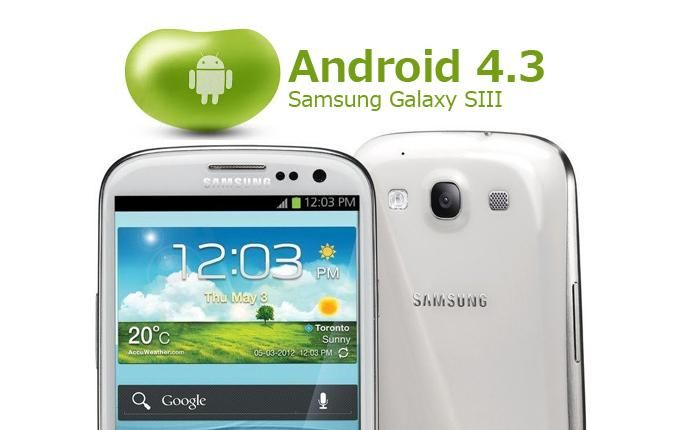 #GalaxyS3 owners will soon get Android 4.3 on their devices. Official update now rolling ~ via cybershack.com