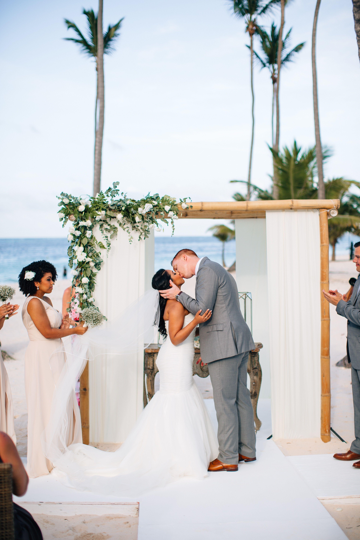 Destination wedding at jellyfish punta cana dominican republic