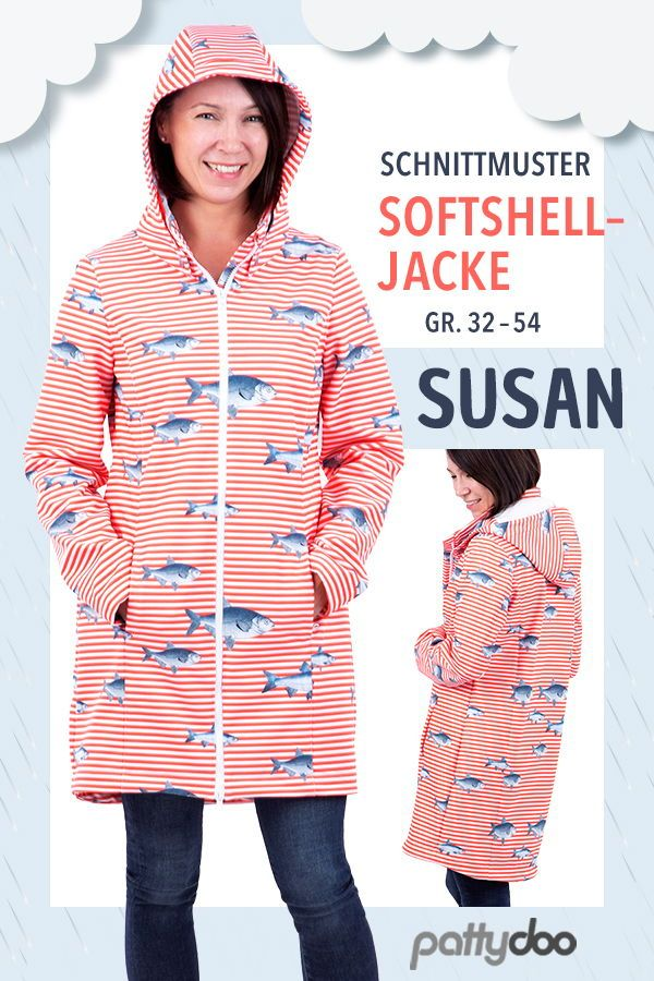 "Photo of Sewing pattern ladies softshell jacket ""Susan"" »Sew the jacket yourself"