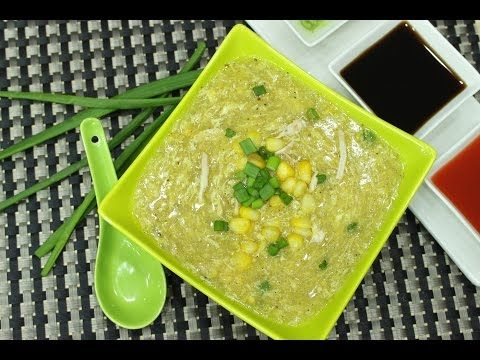 Youtube Chicken Corn Soup Corn Soup Recipes Corn Soup