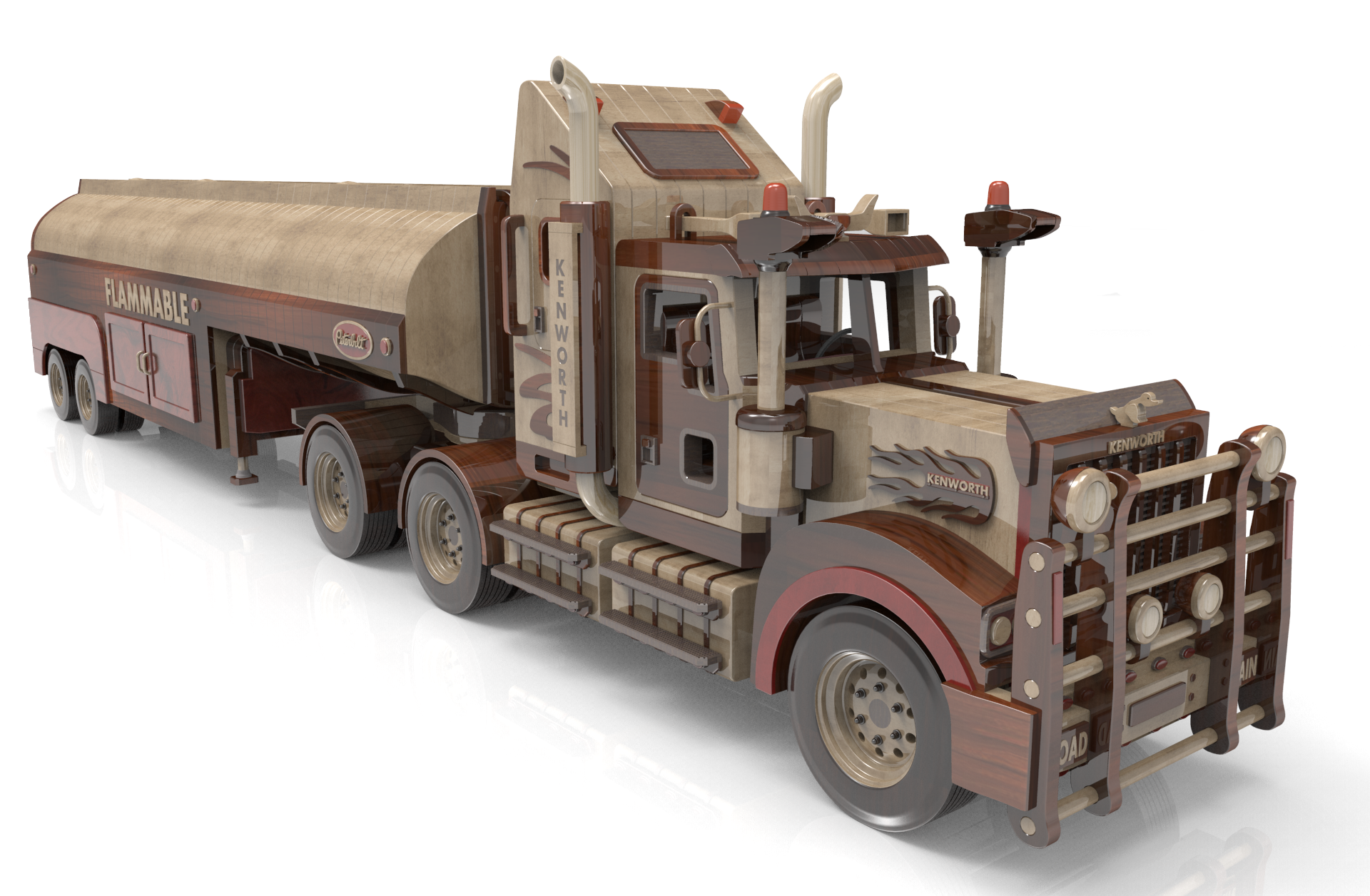 peterbilt 281 oil tanker | wood toy plans forums | toys