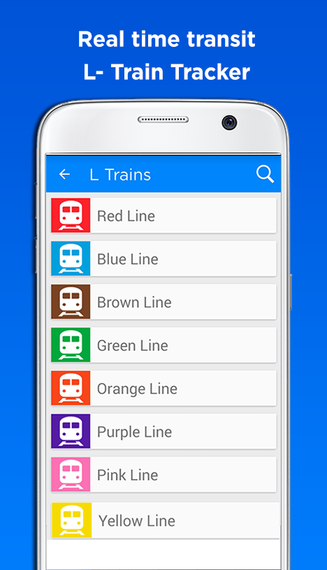 Best Chicago CTA Transit TrainTracker based app in the