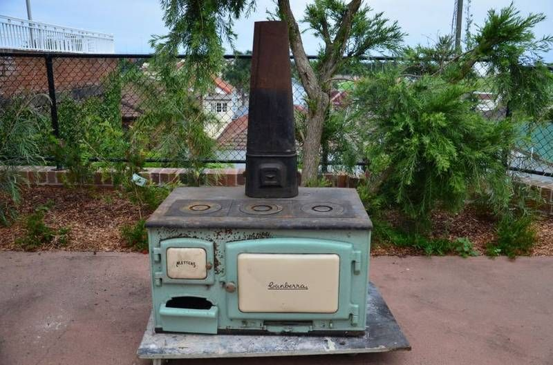 Metters Canberra Wood Burning Stove Antique Stove