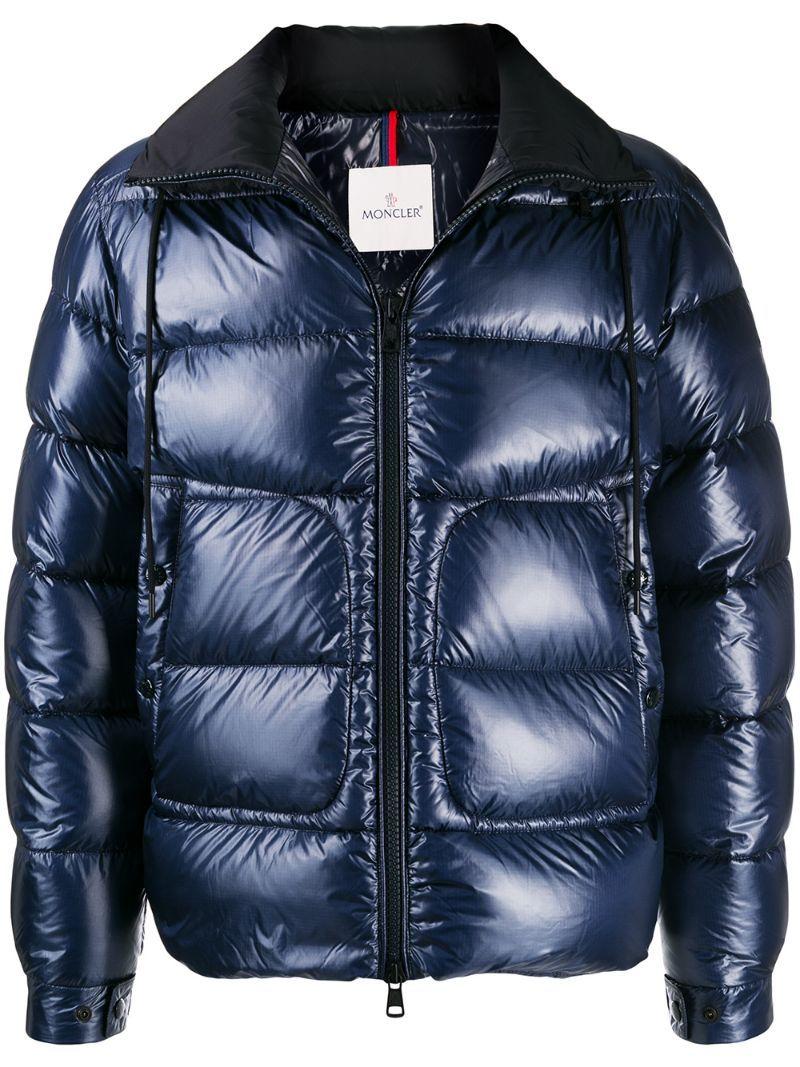 Moncler Jackets Moncler Logo Patch Padded Jacket Blue Moncler Jackets Padded Jacket Patch Logo Moncler [ 1067 x 800 Pixel ]