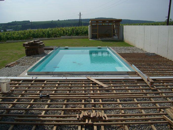 projektbeispiel verlegung einer poolumrandung mit terrasse gartenideen pool umrandung. Black Bedroom Furniture Sets. Home Design Ideas