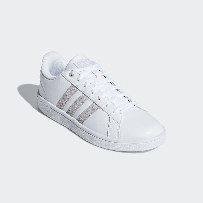 adidas Cloudfoam Advantage Shoes White | adidas US
