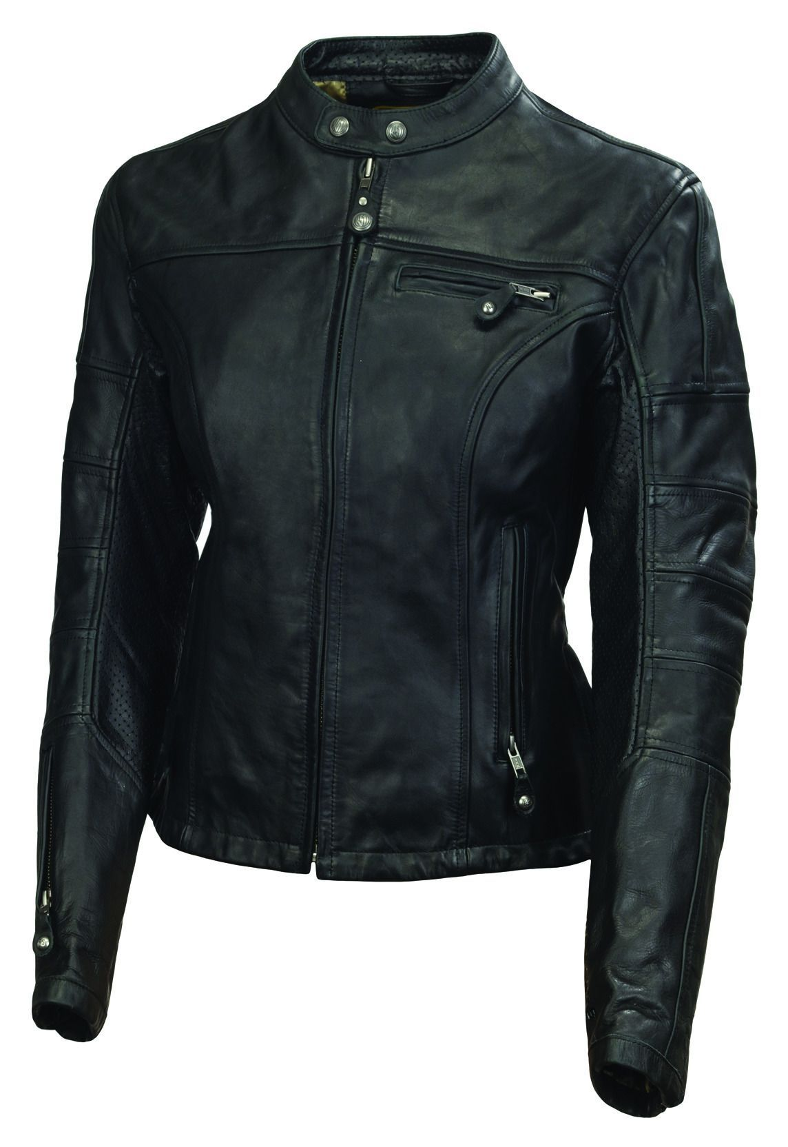 Roland Sands Maven Women S Leather Jacket Revzilla Leather Jackets Women Leather Jacket Leather Jacket Black [ 1664 x 1144 Pixel ]