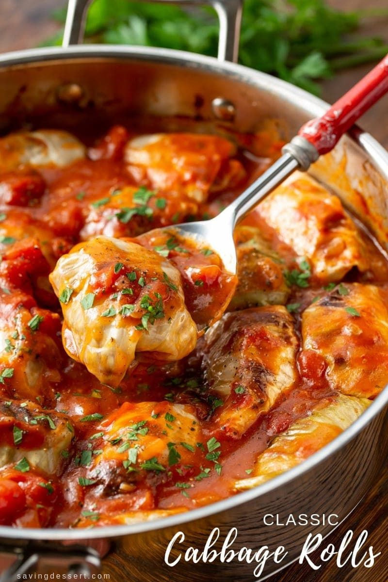 Classic Cabbage Rolls Recipe Recipe In 2020 Cabbage Recipes Cabbage Rolls Recipe Recipes