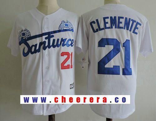 new product 7237c 876a2 Men's Puerto Rico Cangrejeros De Santurce #21 Roberto ...