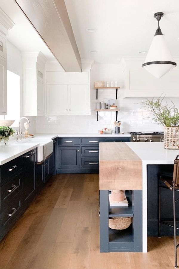 65 Beautiful Modern Kitchen Ideas Pictures Designs 2020 Page 9 Of 65 My Lovely Home Design In 2020 Kitchen Design Modern Kitchen Home Kitchens