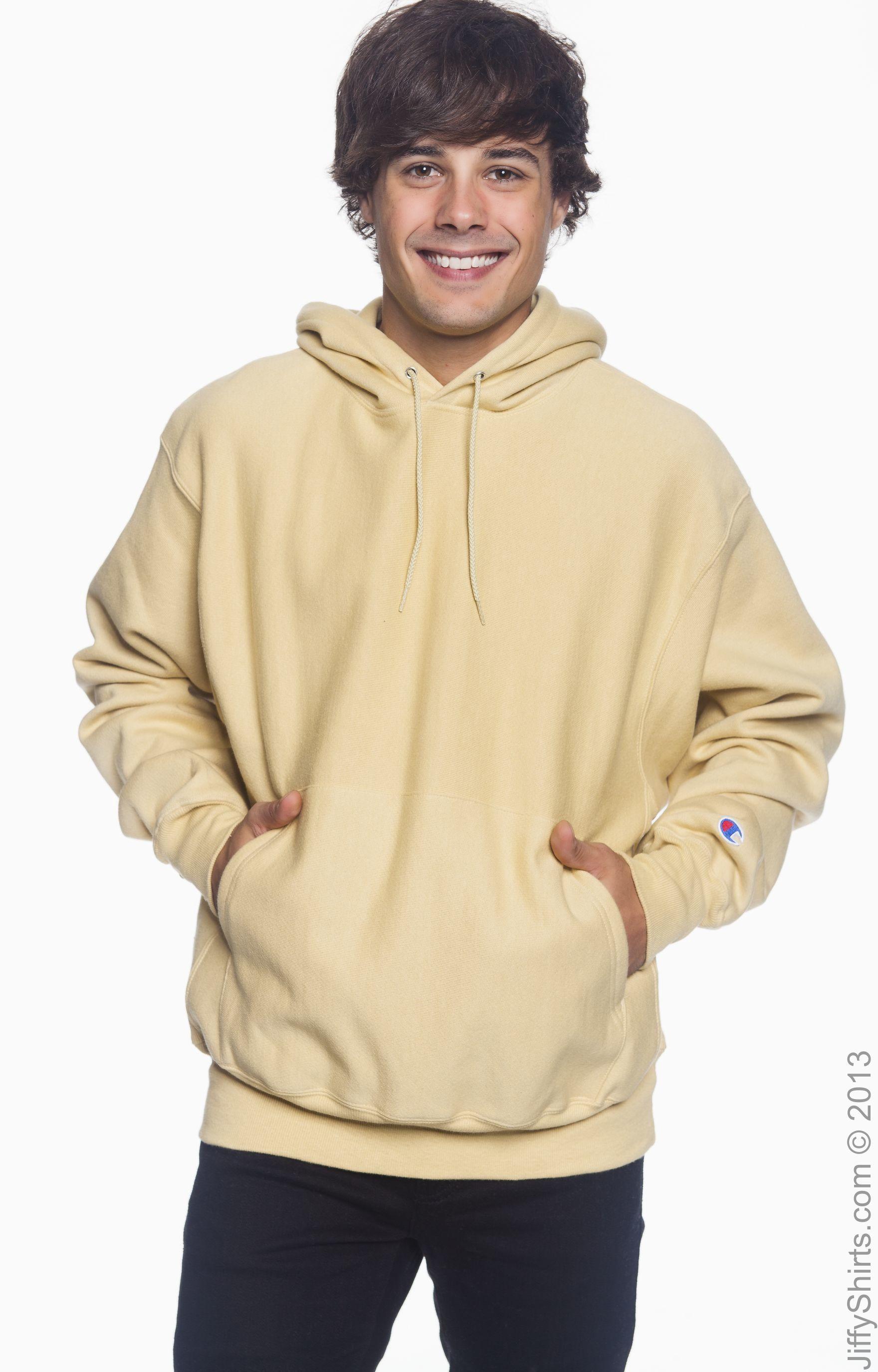 Champion S1051 White Reverse Weave 12 Oz Pullover Hooded Sweatshirt Hooded Sweatshirts Hooded Pullover Sweatshirts [ 2750 x 1760 Pixel ]