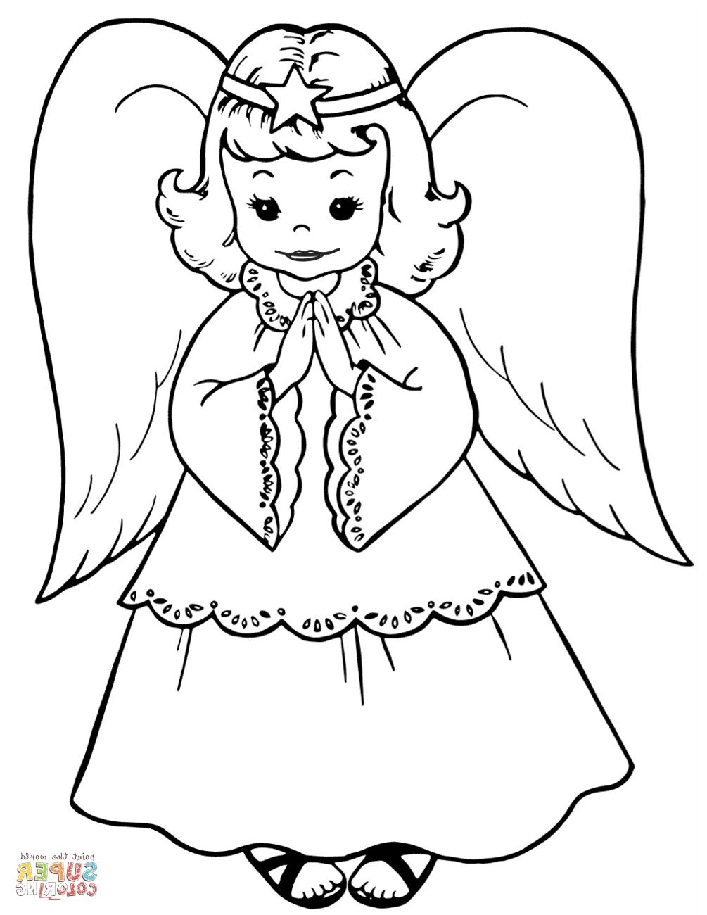 Collection Of Angel Coloring Pages Free Coloring Sheets Angel Coloring Pages Angel Coloring Page Abstract Coloring Pages