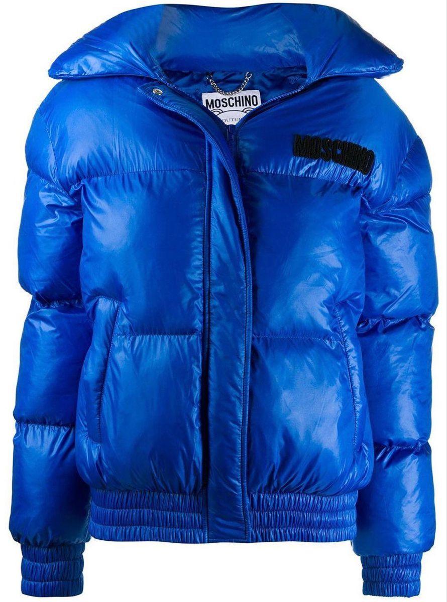 Moschino Royal Blue Teddy Bear Puffer Jacket Puffer Jackets Silk Bomber Jacket Pink Bomber Jacket [ 1200 x 890 Pixel ]
