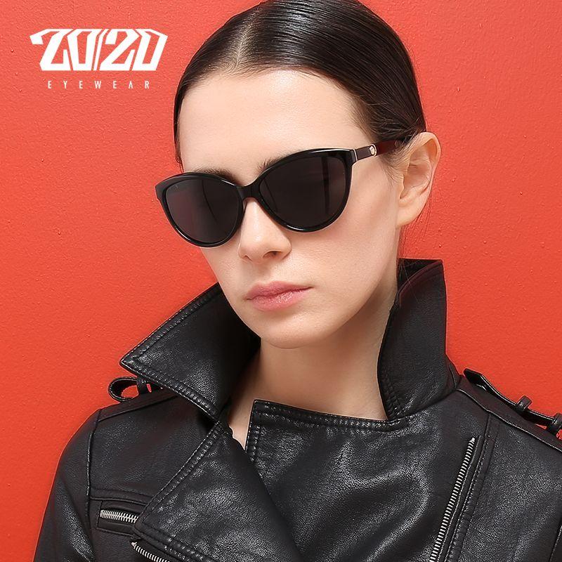 Barato 20 20 Design Da Marca Gato olho Mulheres Óculos De Sol Óculos  Polarizados Óculos de Sol Femininos Estilo Vintage Shades Oculos Feminino  PL338, ... 148c4cea2a