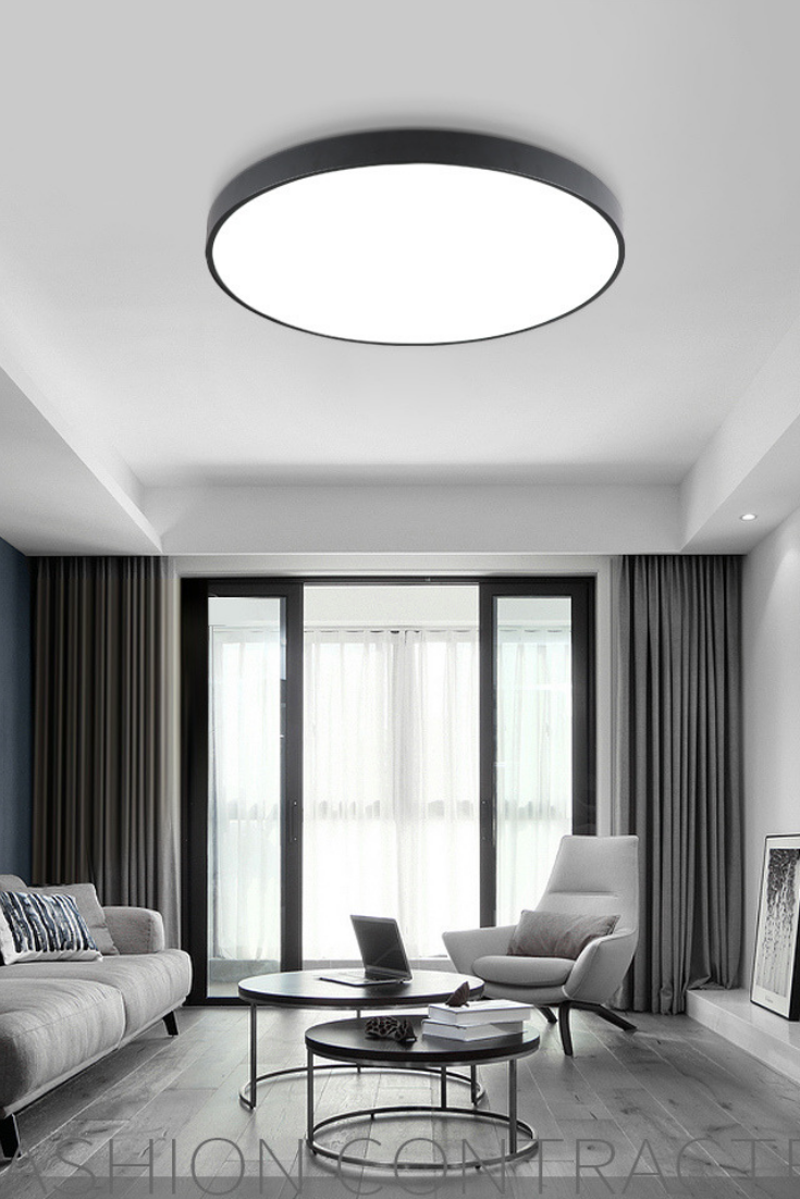 Nordic Led Ceiling Lights Ultra Thin Modern Ceiling Lighting Bedroom Light Fixtures Bathroom Ceiling Light Living Room Lighting