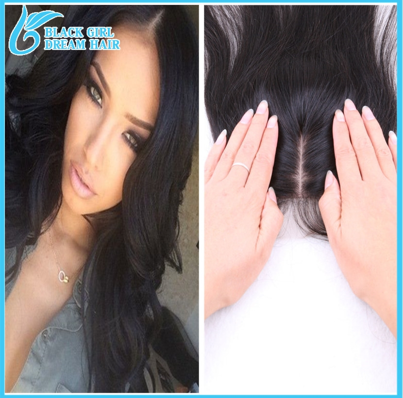 64.00$  Watch now - http://alibos.worldwells.pw/go.php?t=32346601006 - 7a cheap virgin Indian silk base closure, 4*4 silk based closure, body wave free/3/middle part silk base closures free ship