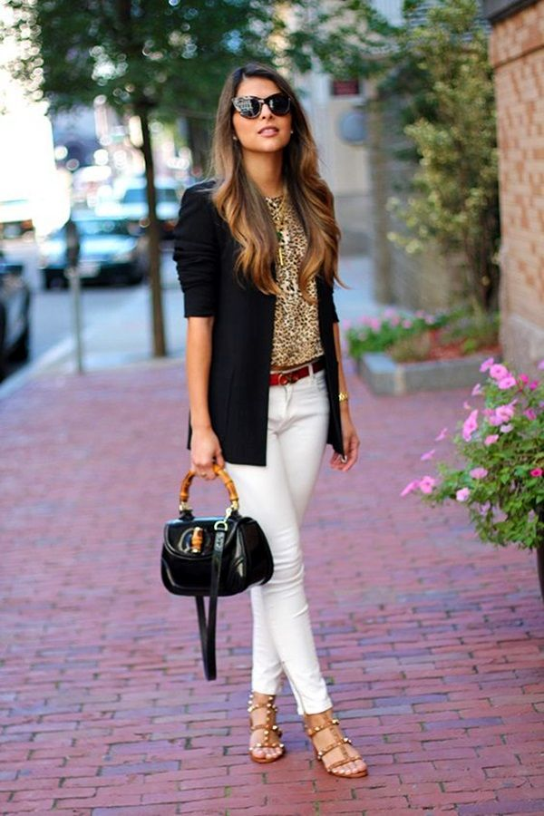 2f6206466f16 45 Casual White Jeans Outfits for 2016 | FASHION:casual | White ...