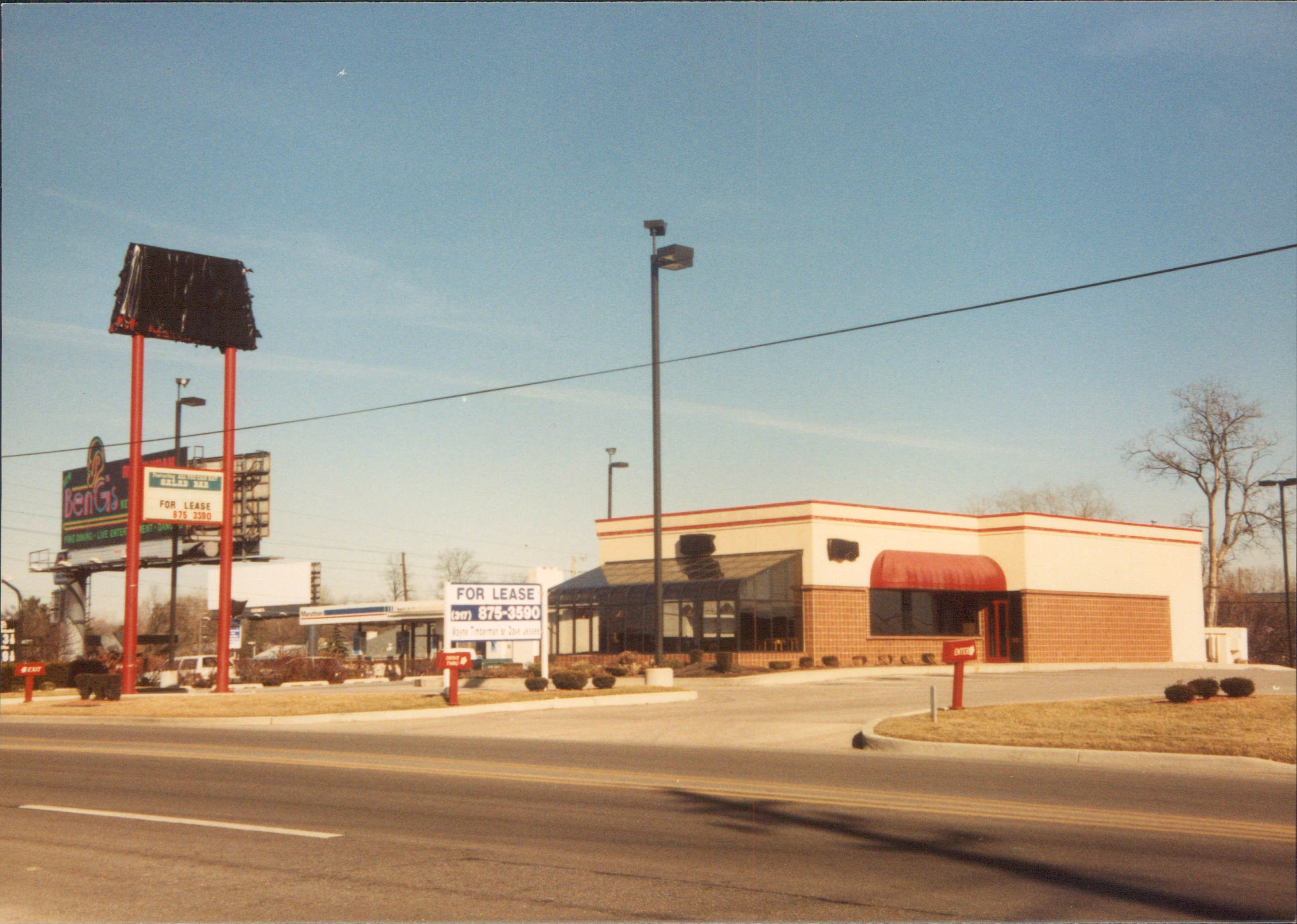 Rax Roast Beef- 86th & Westfield Blvd. (CLOSED & SHUT DOWN) Indianapolis, Indiana.