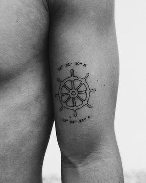 Steuerrad Tattoo