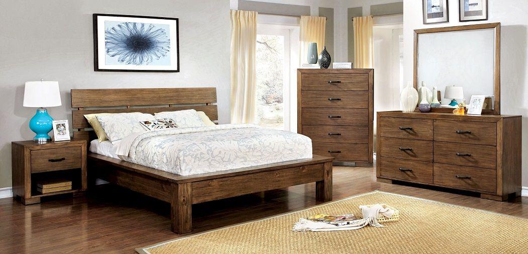 Roraima Collection Cm7251 Bedroom Set Bedroom Furniture