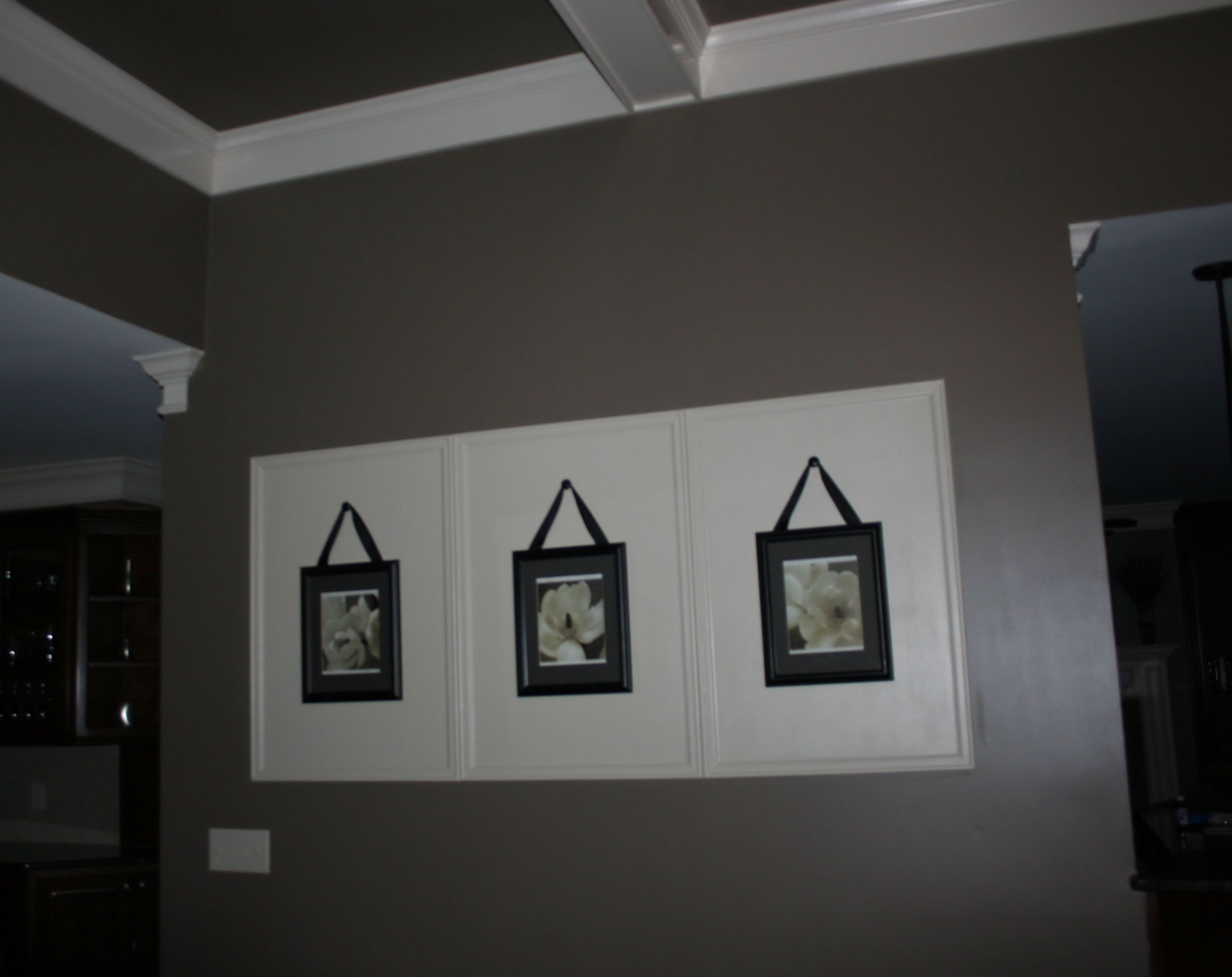 Large Wall Decor (Simple & Inexpensive  Paint Wall, Frame