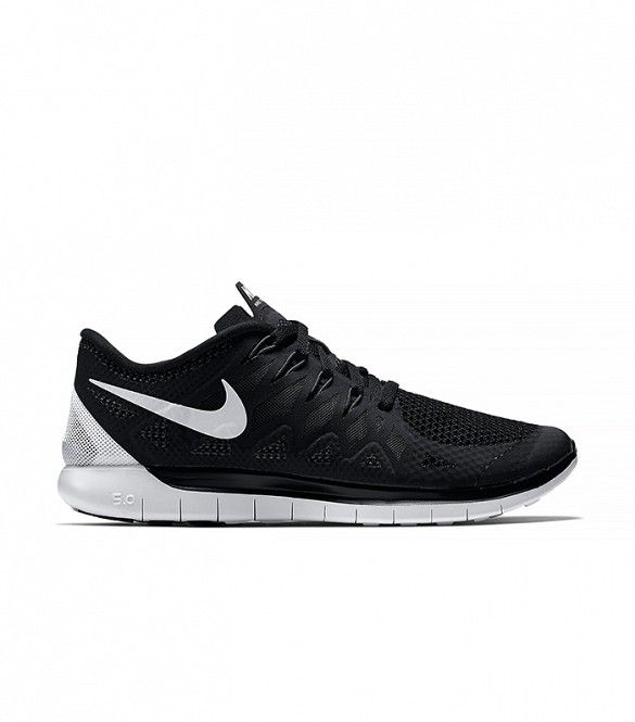 ae8527c88020 Nike Free 5.0 in Black and White. Nike Free 5.0 Women s Running Shoe.