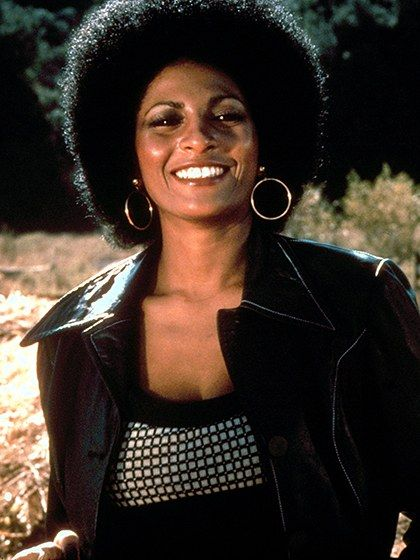Pam Grier Som Foxy Brown Hendes Ikonisk Afro Goes Down Under-4191