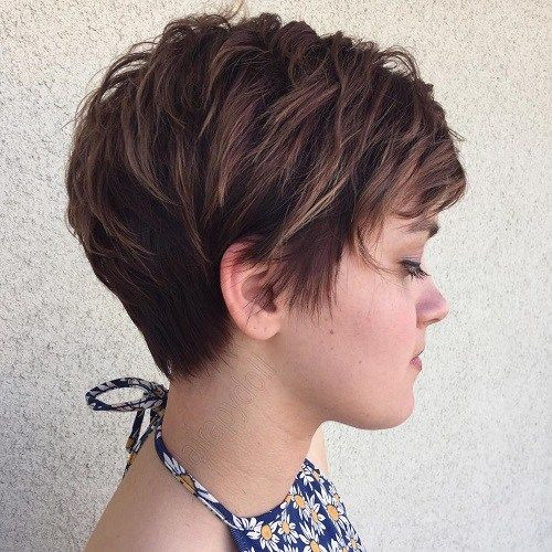 Short Layered Hairstyles Adorable 60 Overwhelming Ideas For Short Choppy Haircuts  Pinterest  Pixies