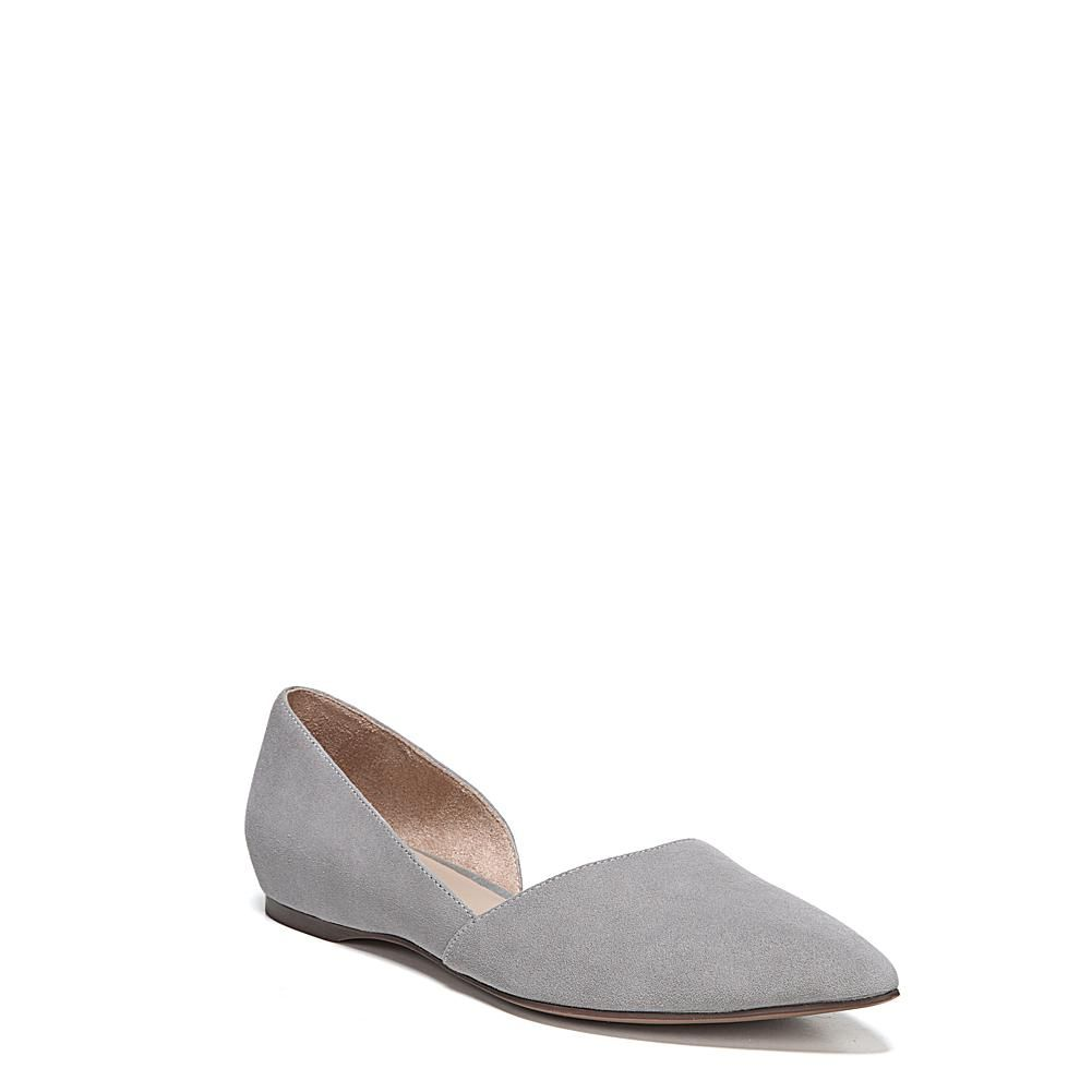 Naturalizer Samantha Flats Feminine meets contemporary with the Samantha flats from Naturalizer. Detailed dressy style, Pointed toe, Slip-on fit, D'Orsay-style side cutouts Leather, suede, fabric or suede/leather upper with smooth lining Non-slip outsole for stability with approx. 1