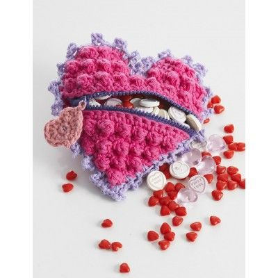 Crochet Hearts Free Patterns For Valentines Day Heart Shaped
