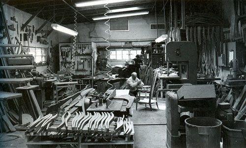 Sam Maloof workshop