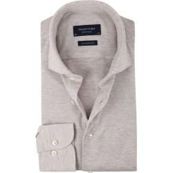 Profuomo Hemd Knitted Beige Profuomo