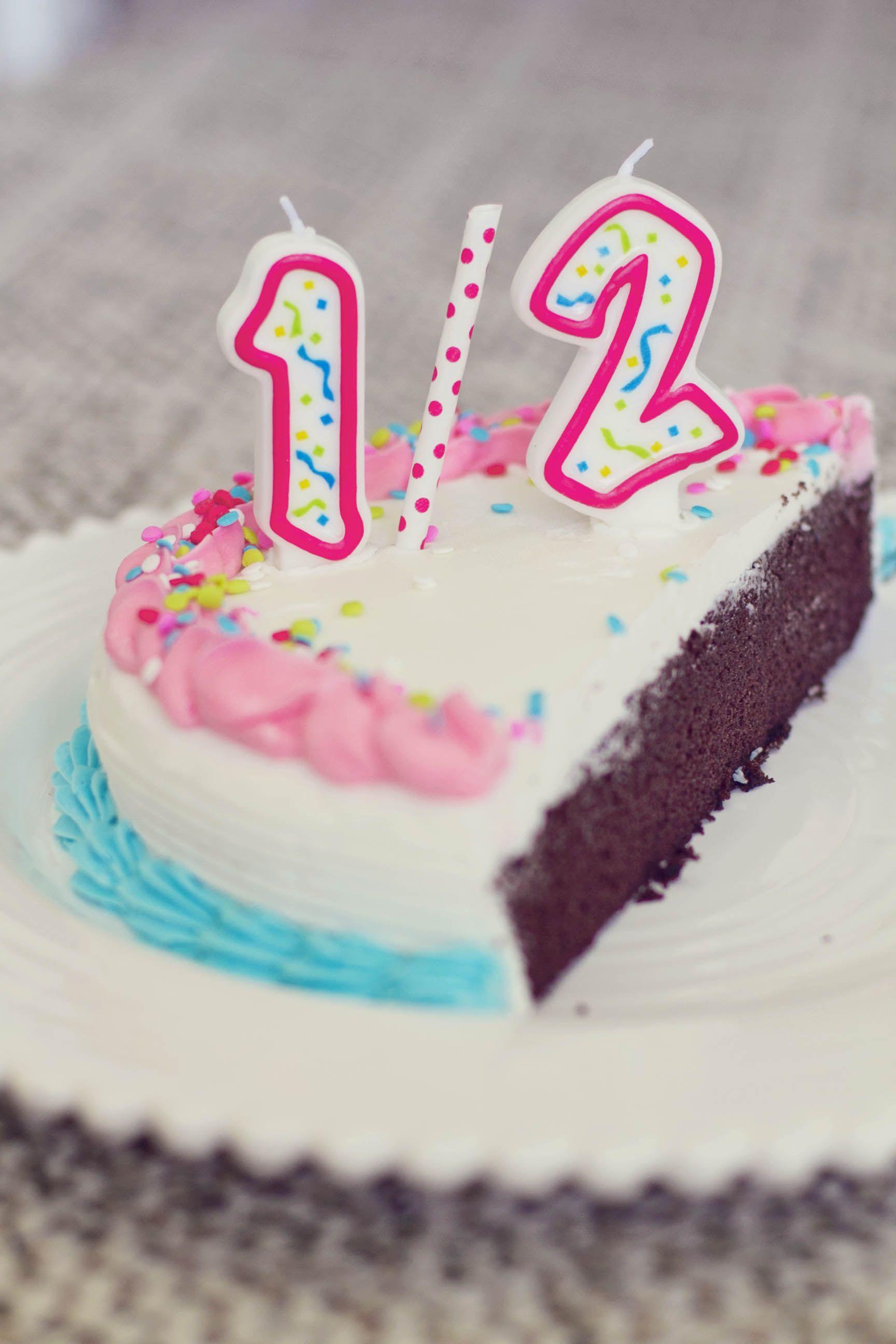 Half Birthday Cake Homemade