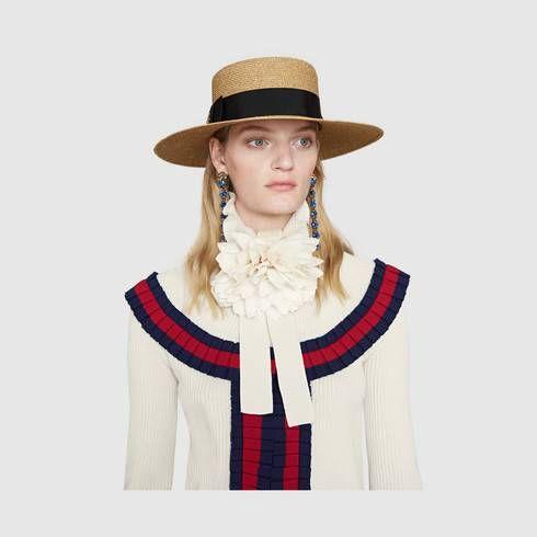 506a07d70dbdc Gucci Lurex papier hat
