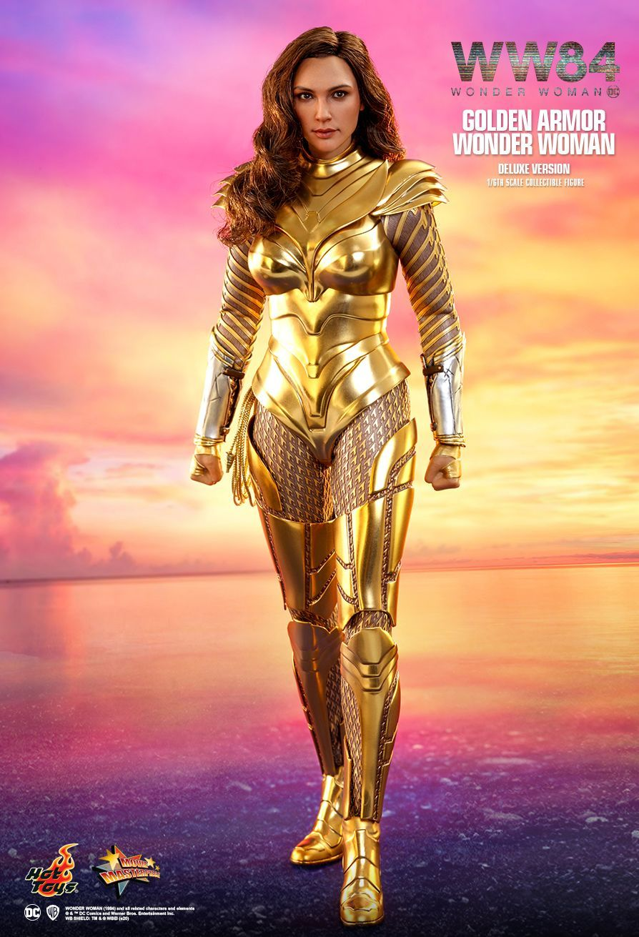 Hot Toys Wonder Woman 1984 Golden Armor Wonder Woman Deluxe Version 1 6th Scale Collectible F In 2021 Wonder Woman Vs Cheetah Wonder Woman Gal Gadot Wonder Woman