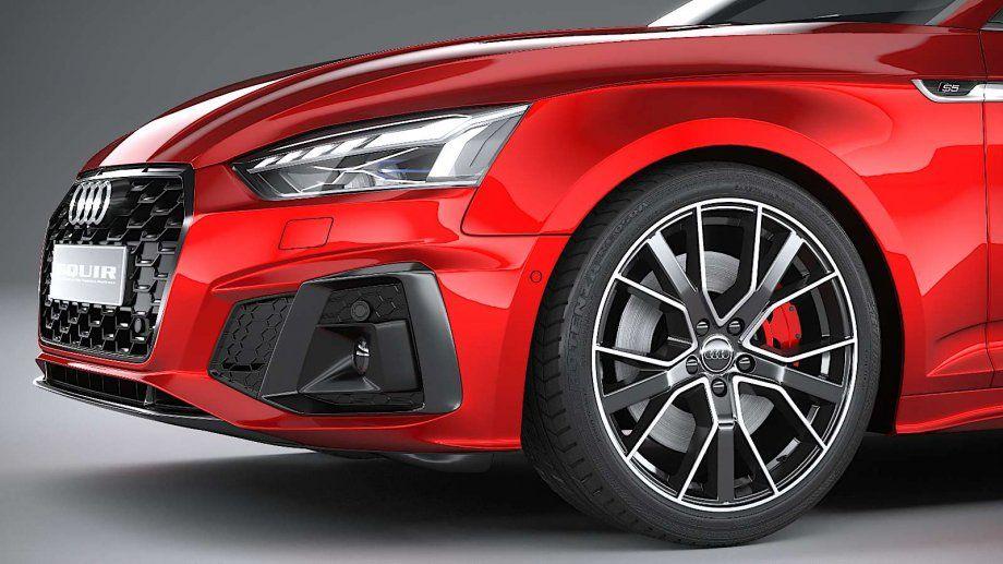 2021 Audi A5S Modell in 2020 Audi a5 interior, Audi a5