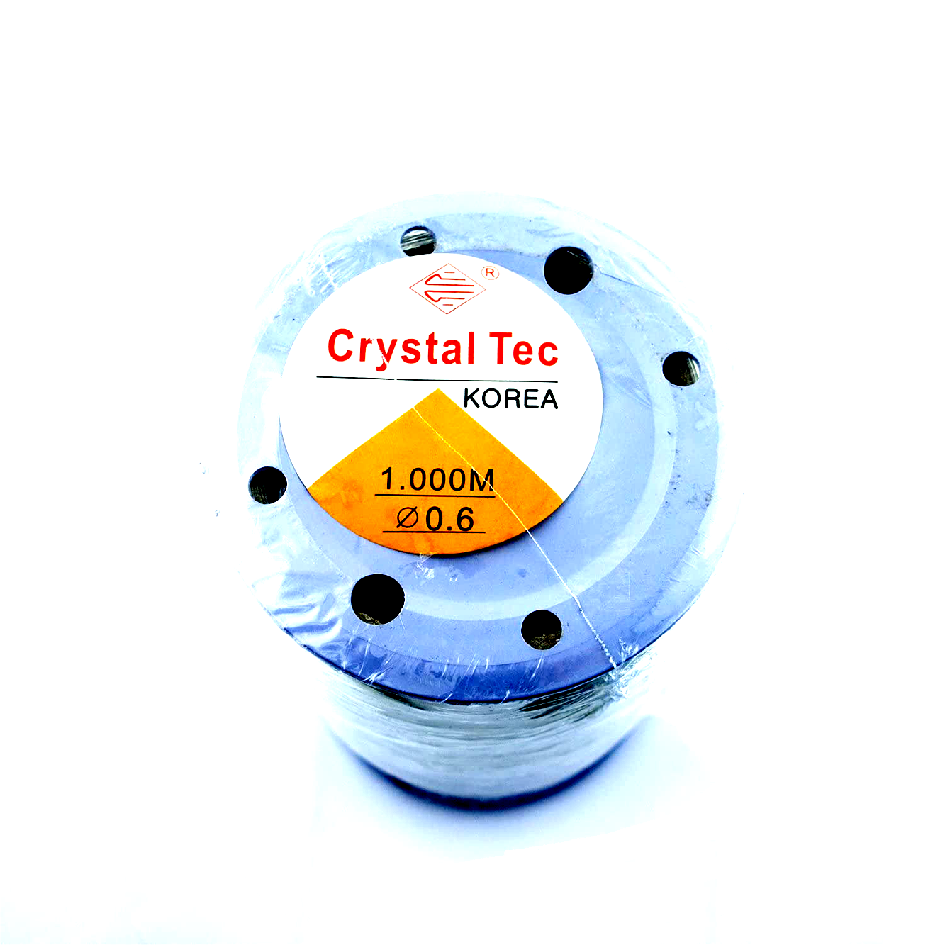 *New Arrival* Crystal Tec transparent stretchy cord in bulk quantity. The full roll contains 1000 meters. Available in 0.6mm, 0.8mm, 1.0mm and 1.2mm.