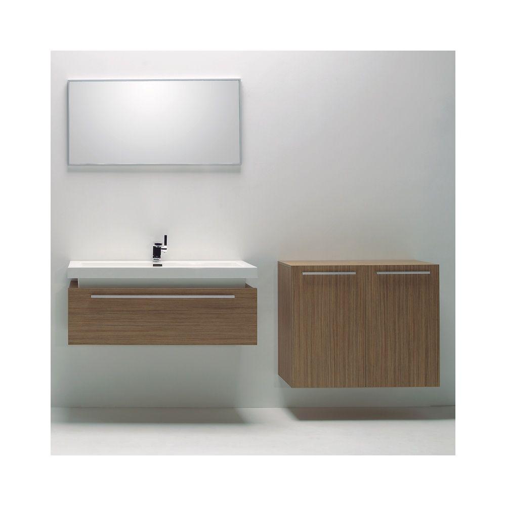 Europa Paris P-Teak Bathroom Vanity Basin Unit, Draw Unit & Mirror ...