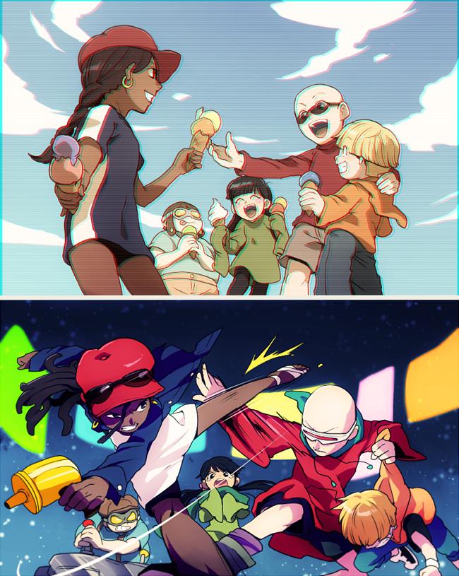 Kids Next Door Anime vs cartoon, Cartoon as anime, Cartoon