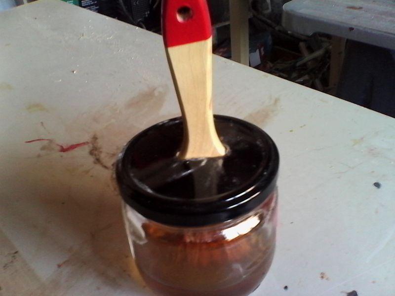 Corte de ngulos a 45 gu a para corte en sierra de - Como barnizar con brocha ...