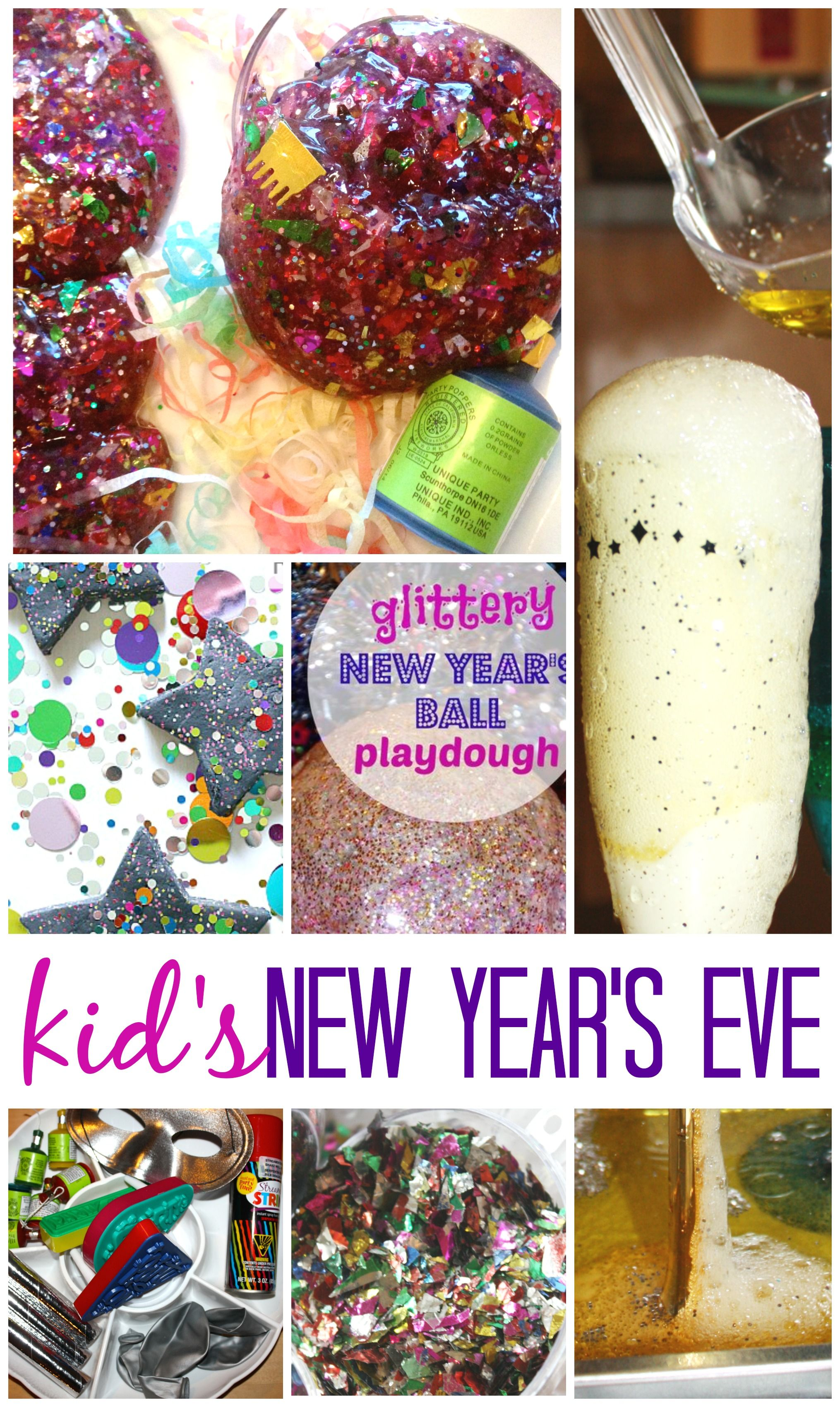Kids new years eve party ideas and activities for new for Fun new years eve party ideas