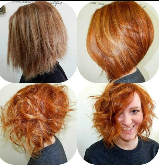 Beautiful  before/after. Love this red
