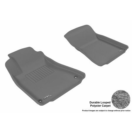 3d Maxpider 2006 2013 Lexus Is250 350 Isf Front Row All Weather Floor Liners In Gray Carpet Grey Carpet Toyota Prius Front Row