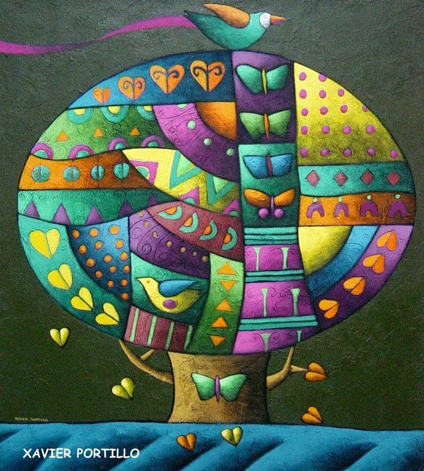 Xavier color printing - Xavier Portilla Guayaquil Ecuador 1965 Una Paleta Que Derrocha Arte Color Y