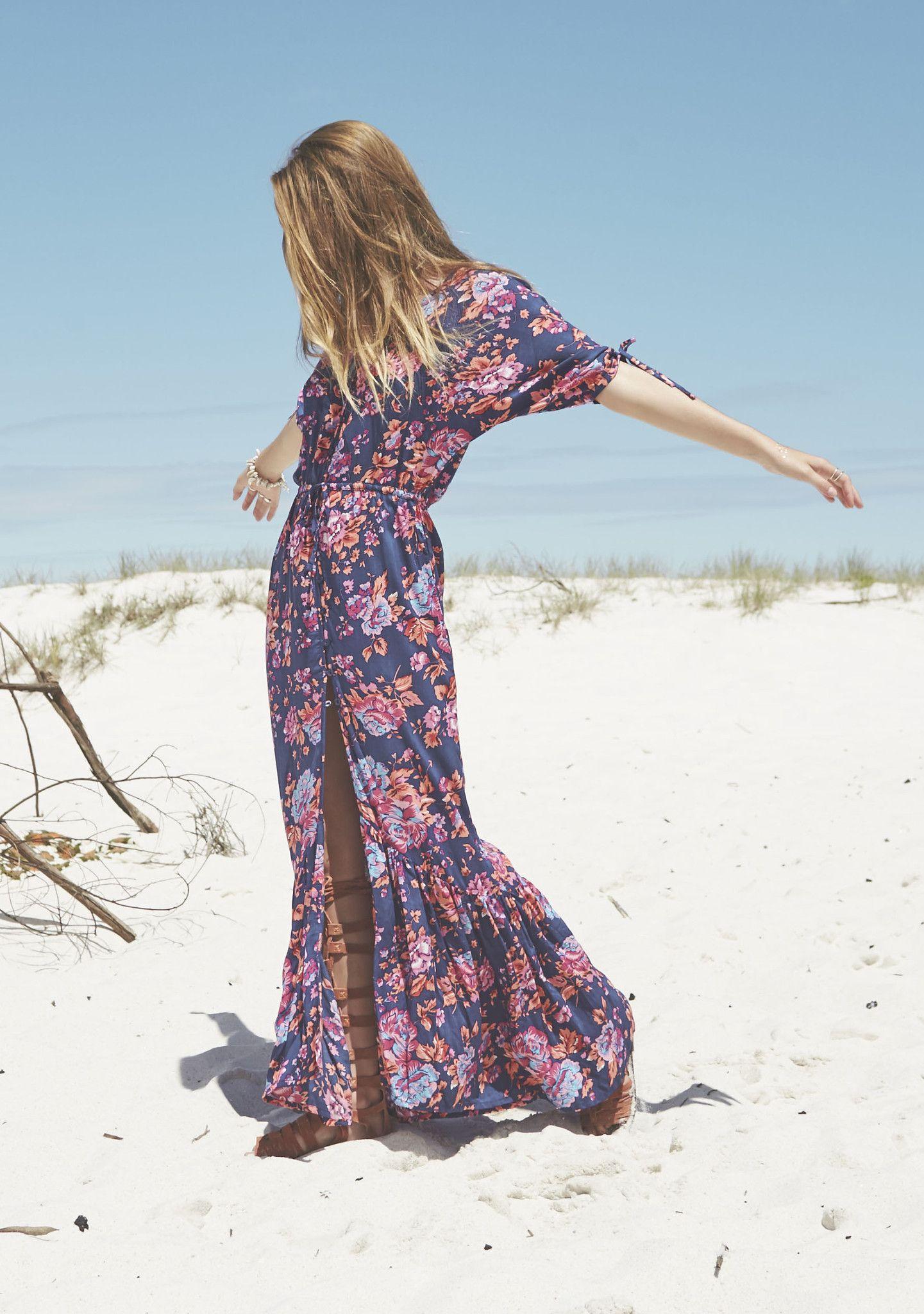 f0a8d9f1c Auguste - Diamonds Roamer Maxi Dress Sweet Magnolia - Boho Dress – AUGUSTE